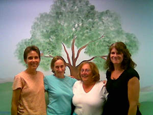 MLP teachers - Donna Liese, Amy Sackman, Bonnie Light, Kathy Florence